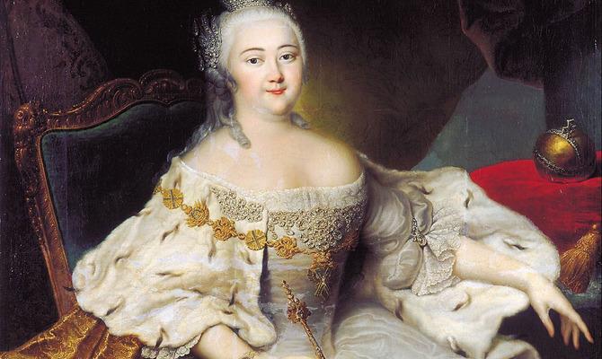 День рождения Елизаветы Петровны