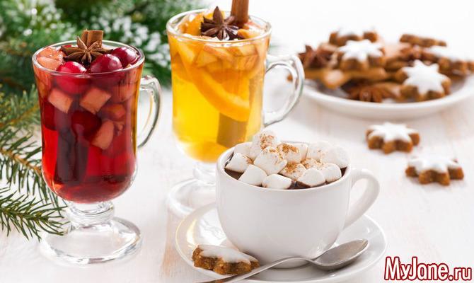 Безалкогольные напитки для новогодней ночи: рецепты