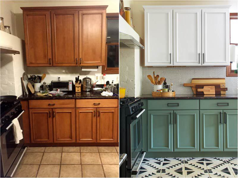 Как обновить фасад кухни из мдф своими руками