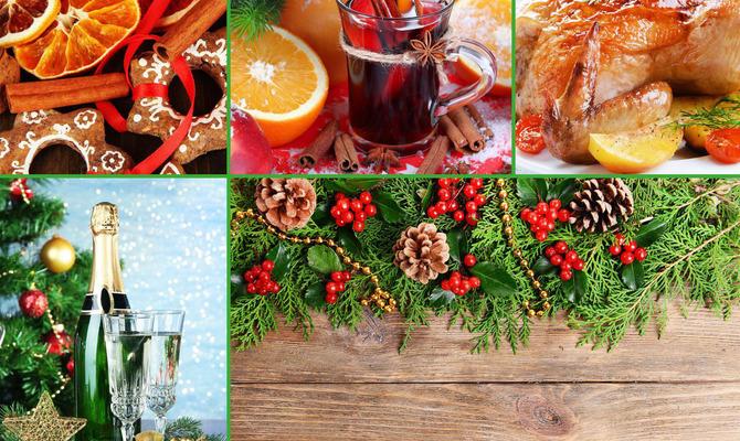 Четыре идеи для рождественского стола