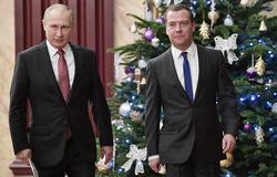 Как Путин и Медведев будут встречать Новый год