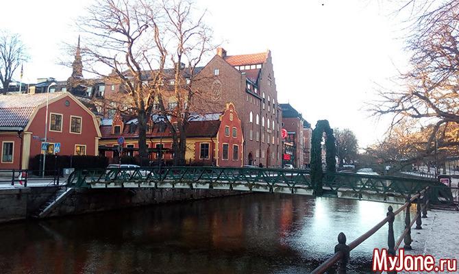 Зимняя прогулка по старинной столице Швеции