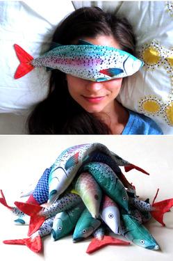 Рыба на глазах, или Новинка для ухода за кожей глаз