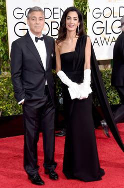 Джордж Клуни опроверг информацию, что у Амаль родится сын и дочь