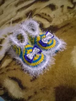 вязанные тапочки своими руками группа вязание