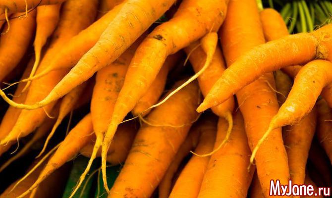 Закуски и гарниры из моркови