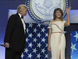 Мелания Трамп выбрала для инаугурационного бала наряд дизайнера Эрве Пьера