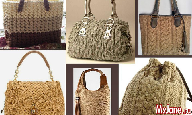 0fb56bb7e871 Вязаные сумки: стильные вещи своими руками - сумки, вязаные сумки ...