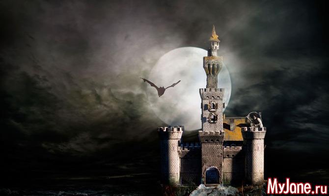 Самые популярные замки с привидениями