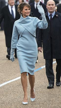 Дизайнер Элис Рой рассказала, как Мелания Трамп выбирает наряды