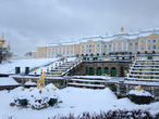 Зимний Петергоф завораживает