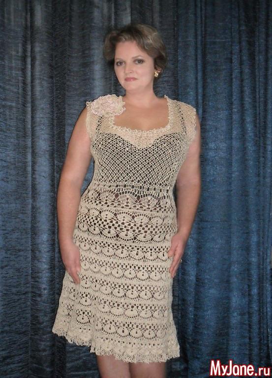 Платье с бас