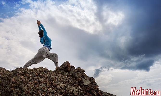 Йога для героев или Асаны, помогающие быть успешной
