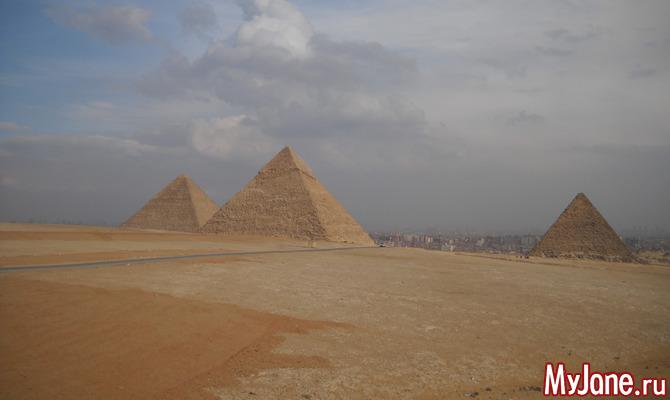 Пирамиды и Сфинкс - визитная карточка Египта!