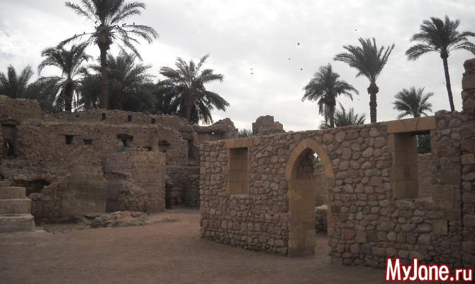 Крепость Мамлюка – один из важнейших символов Акабы