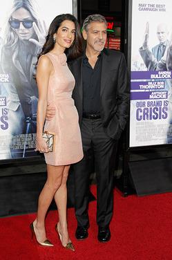 Амаль и Джордж Клуни - впервые родители!