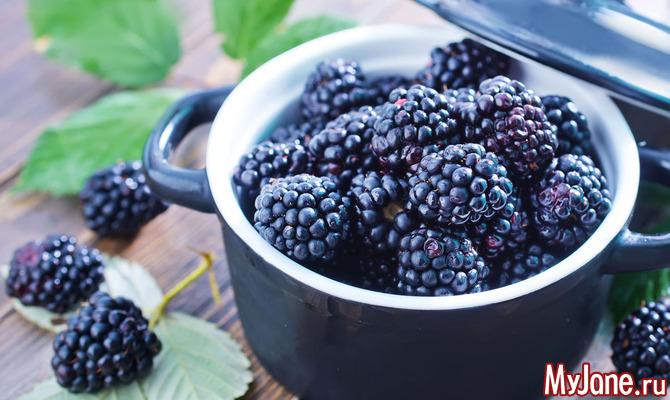 Сочная ягода ежевика для здоровья и похудения