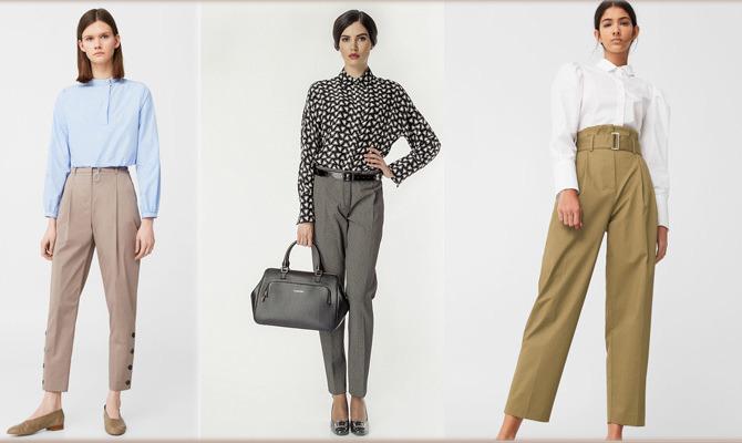 Модные весенние брюки 2017