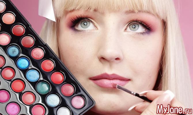 Женственный макияж на 8 марта