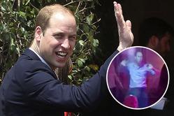 Почему танец принца Уильяма назвали «стариковским» (видео)
