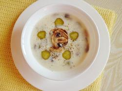 """Сметанный суп с грибами """"20 минут"""""""