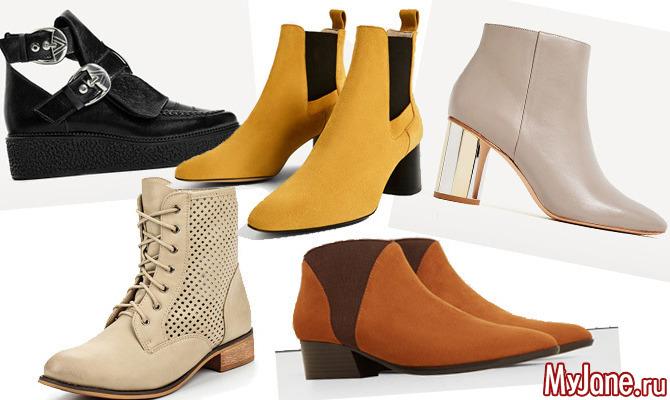 Модные весенние ботинки 2017