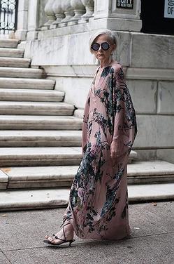Стиль 63-летней Лин Слейтер покорил модный мир