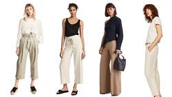 Светлые брюки для весны и лета 2017