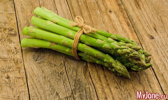 Спаржа – интересный овощ для здоровья и похудения