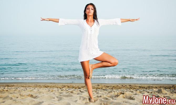 «Счастливые» асаны йоги