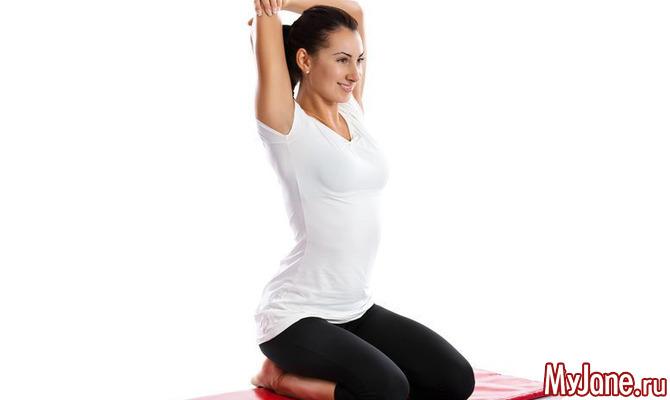 Йога для плеч
