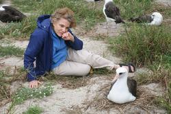 Берегиня голубого сердца планеты океанолог «Her Deepness» Сильвия Эрл