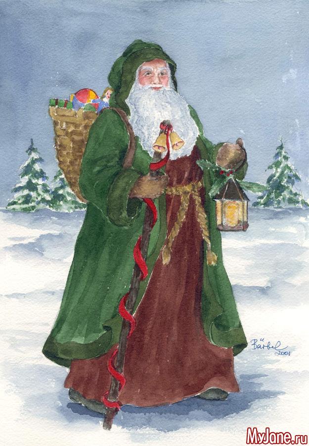 рождественские открытки шотландии дальнейшая