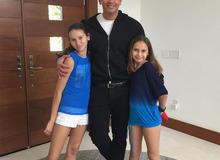 Алекс Родригес с дочками от первого брака – с Синтией Скертис. фото