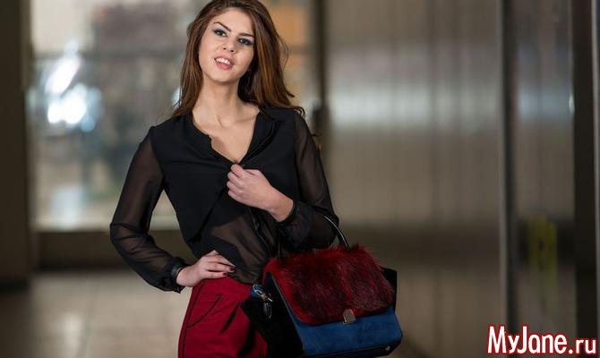 Блузки в стиле секси к Новому году