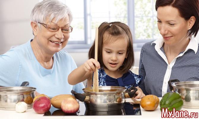 Мама-бабушка-ребенок: любовный треугольник