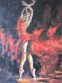 Балерина в красном