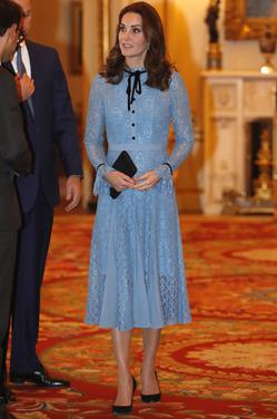Нежное кружевное платье Кейт Миддлтон