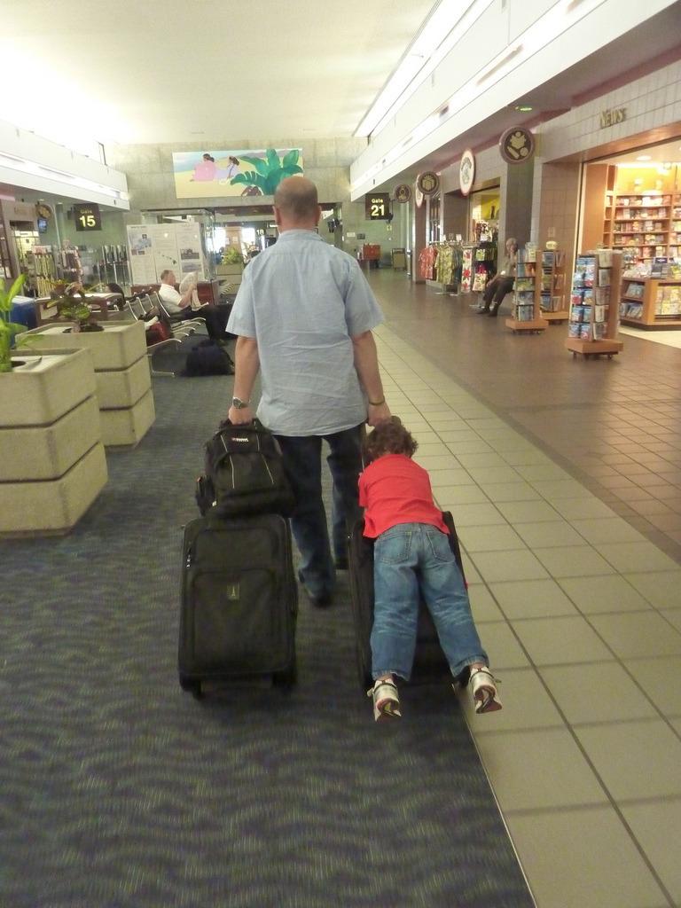 Долгая дорога. Чем занять ребёнка на пересадке в аэропорту