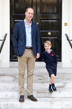 Принц Уильям назвал любимые мультфильмы принца Джорджа