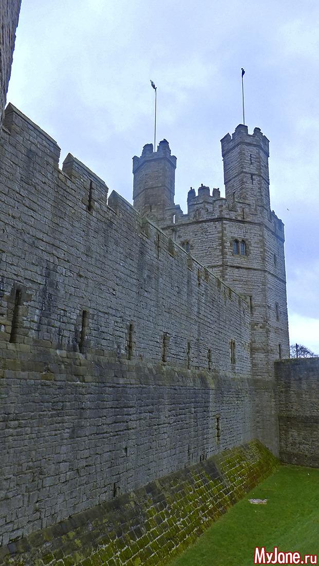 Уэльс, Сноудония, Сноудон, Карнарвон, замок, горы