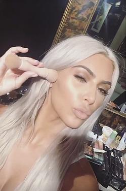 Ким Кардашьян снова сменила имидж