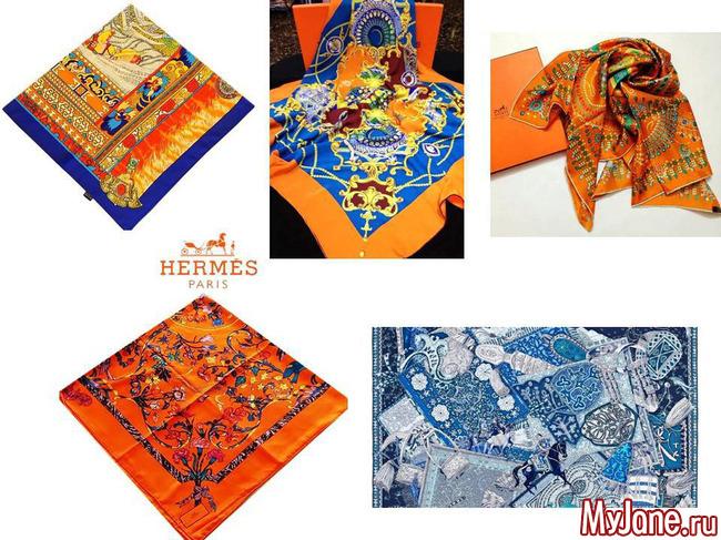 Hermès, платки