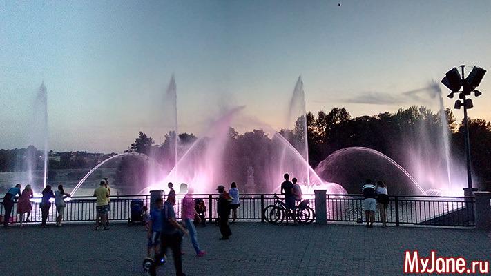 В Винницу ради самого большого в Европе плавающего фонтана и не только