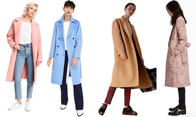 Легкие весенние пальто 2018