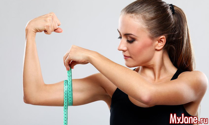 Упражнения на бицепс для девушек