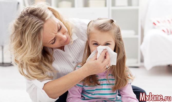 Аллергия у детей в летний период