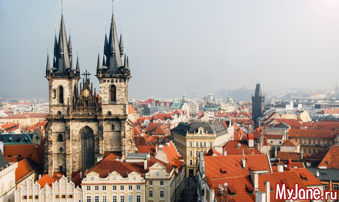 Пешком по Праге
