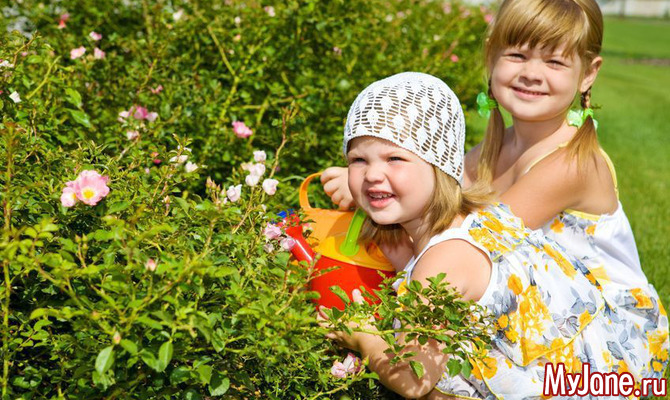 Малыши на даче: как обеспечить безопасный отдых