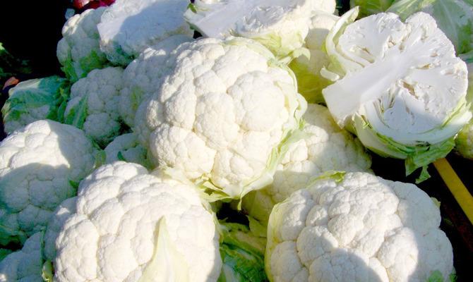 О чем говорит цвет овощей и фруктов? Белый